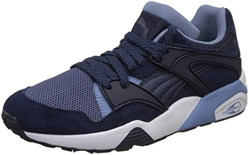 Puma Men s Blaze Peacoat-Blue Indigo-Infinity White Sneakers-10 UK India 7316cc8e5