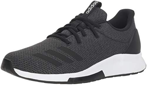adidas Women's Puremotion Running Shoe, Black/Carbon, 6 M US