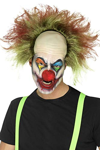 Smiffys Sinister Scary Horror Clown Wig -