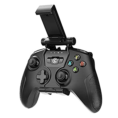 GameSir T2a With Phone Bracket Game Controller 2.4GHz Wireless Wired Gamepad for Android/ TV Box/ PC Windows/ VR