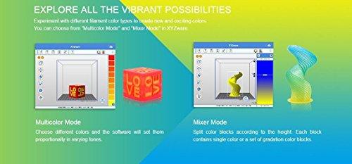 XYZprinting 3F2JWXUS00D da Vinci Jr. 2.0 Mix 3D Printer