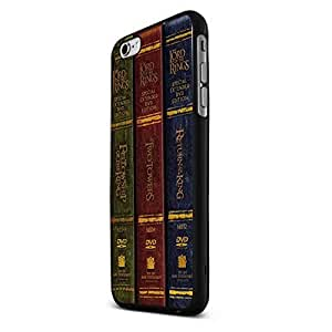 Book Collection of the Lord of the Rings Trilogy Custom Case (Black Iphone 6)