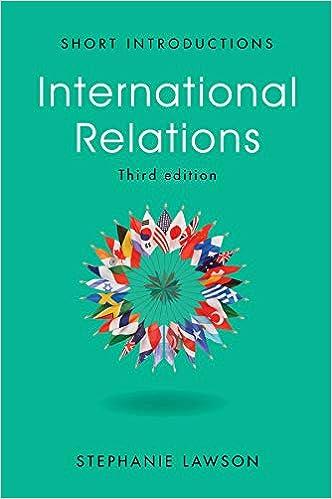 Amazon com: International Relations (9781509508563): Stephanie