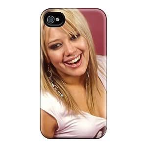 PQSqn34977TnWeH Billyar Hilary Duff Hd 4 Durable Iphone 4/4s Tpu Flexible Soft Case