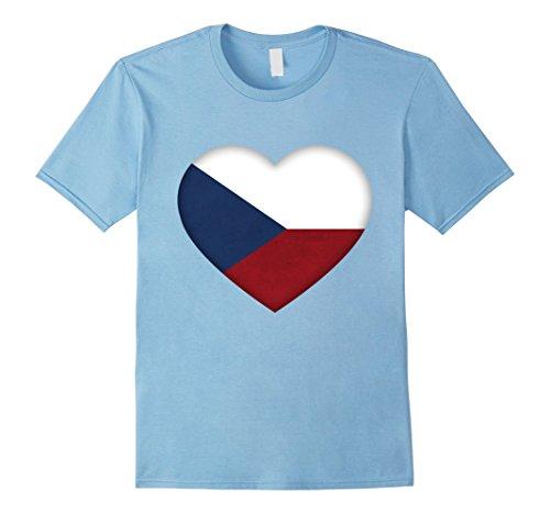 Czech Republic Flag Heart - 7