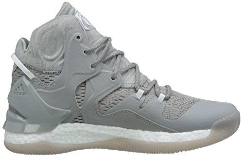 adidas D Rose 7, Scarpe da Basket Uomo Multicolore (Mgreyh/Ftwwht/Mgsogr)