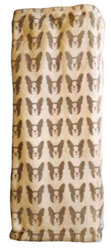 french bulldog fleece fabric - 3