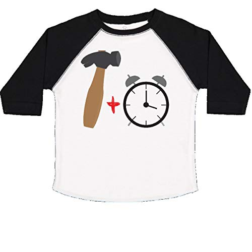 - inktastic - Hammer Time! Toddler T-Shirt 2T White and Black 1731f
