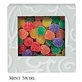 Six Corner Auto Bottom Candy Box - Mint Swirl - Case of 250