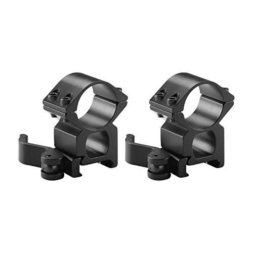 Barska Optics AI12244 1-Inch Quick Release Rings