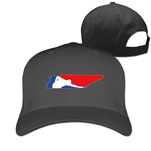 Snooker And Tennessee Map Billiards Black Adjustable Baseball Hats For Man Woman (Sox Ladies Charcoal)