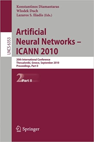 Artificial Neural Networks - ICANN 2010: 20th International
