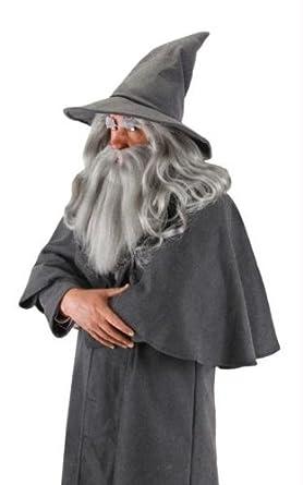 Disfraces para todas las ocasiones EL131230 Gandalf peluca y la barba de  adultos  Amazon.es  Ropa y accesorios 1609c87e61e
