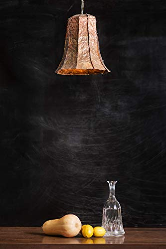 (Bell Shaped Copper Ceiling Light - Campana)