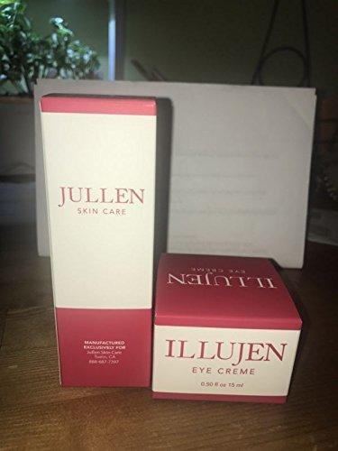 Jullen Skin Care Facial Serum And Eye Cream Bundle Amazon In Beauty