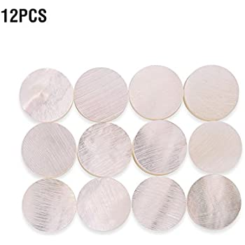 Guitar Parts & Accessories Trend Mark 6mm Diameter Fretboard Fingerboard Position Marker Inlay Dots White Mother Of Pearl Shell Pack Of 10 The Latest Fashion