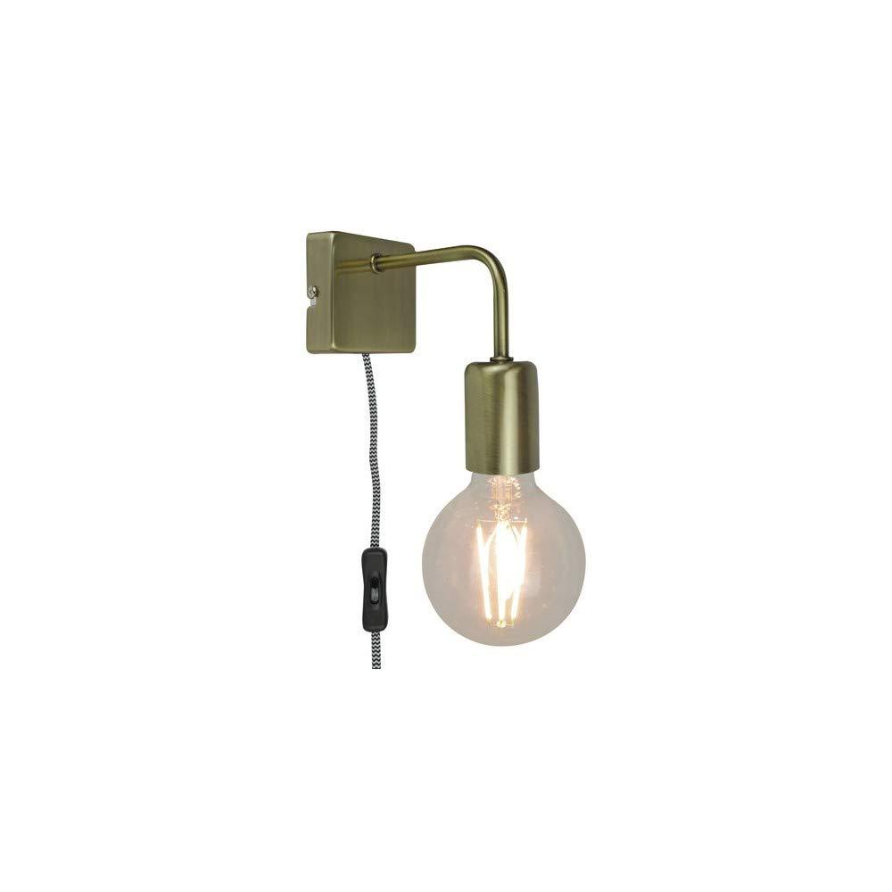 LINA - Applique avec interrupteur Métal Laiton L15cm - Applique Sampa Helios designé par