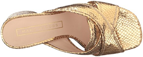 Womens Jacobs Marc Aurora Jacobs Marc Gold Mule wBwq8Sg