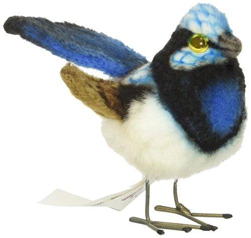 - Hansa Wren Plush Animal Toy, 3, Blue by Hansa