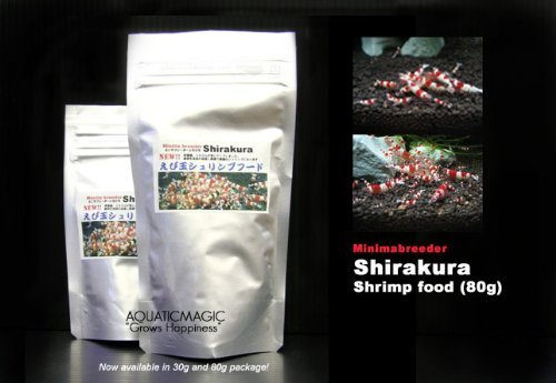 Shirakura Crystal Red Shrimp Food L 80g Or 2 8 Oz For
