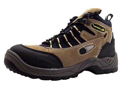 Workforce  Wf71p, Chaussures de sécurité pour femme Marron marron