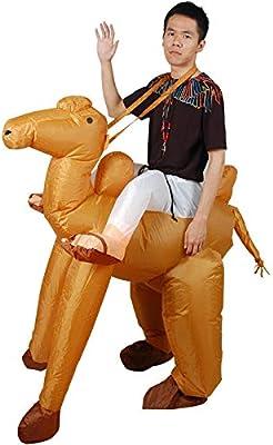 ypyrhh Traje Hinchable, Disfraz de Halloween, Inflable Disfraz de ...