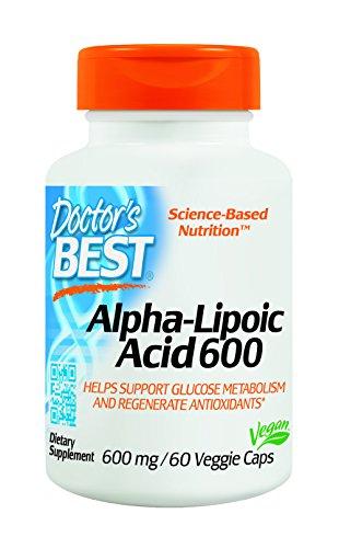 Doctor's Best Alpha-Lipoic Acid 600 mg 60 veggie caps