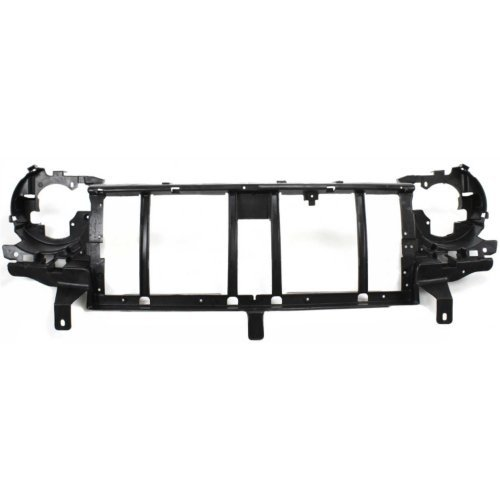 Header Panel Compatible with JEEP LIBERTY 2002-2004 Grille Reinforcement ABS Plastic
