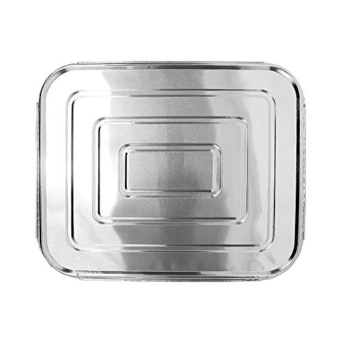 - Karat AF-STPL03 Half Size Aluminum Table Pan Lids (Case of 100)