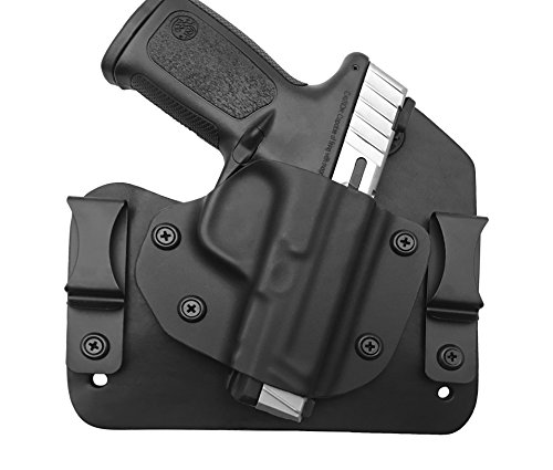 Everyday Holsters Smith & Wesson Sigma SD9VE and SD40VE Hybrid Holster IWB Right Hand Black