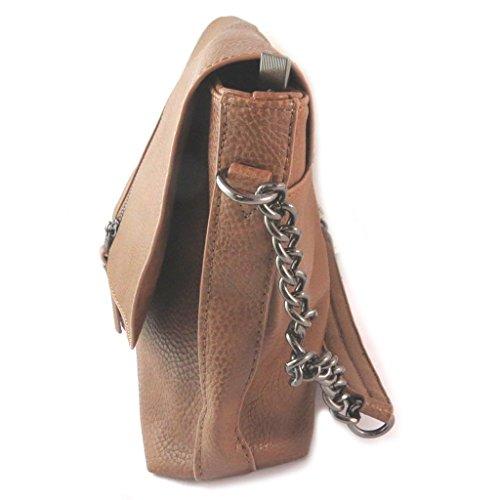 Bag designer 'Lulu Castagnette'cioccolato - 35x20x10 cm.