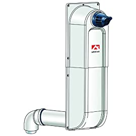 Rinnai 224047PP Condensing Raised Horizontal Termination Kit, Snorkel 9 Engineered especially for gas appliance venting Positive fit and lock allows for installation assurance Two layers of pipe equals two layers of protection