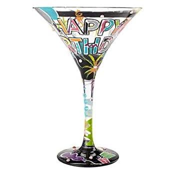 Lolita by Enesco Another Birthday Martini Glass