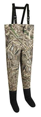 Allen Vega 2-Ply Stockingfoot Camo Chest Waders, Realtree MAX-5