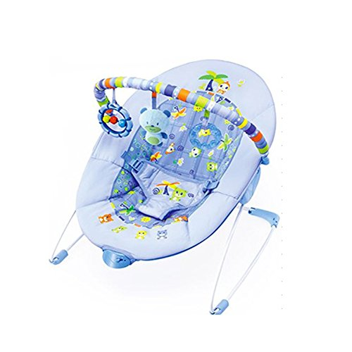 LaChaDa Baby Bouncer Auto Rock'n Play Sleeper Deluxe Infant-to-Toddler Rocker Soothing Swing