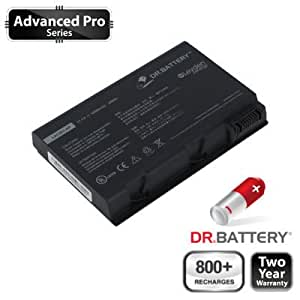 Dr. Battery® Advanced Pro Series Laptop/Notebook Battery Replacement for Acer TravelMate 4200-4263 (5200mAh/58Wh) FREE SHIPPING! 60-Day Money Back Guarantee! 2 Year Warranty (Ship From Canada)