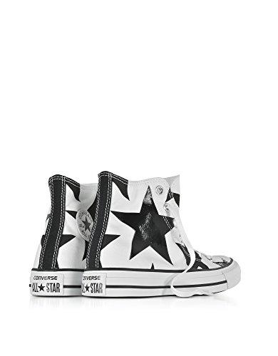 Converse Hi Top Sneakers Donna 156812C Canapa Bianco