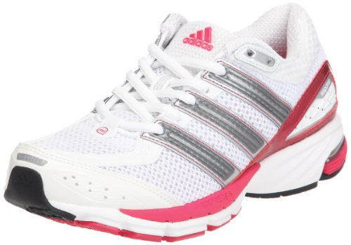 official photos 41b3c b8b38 adidas Performance Womens Resp Cush 21w Running Shoes, White-Weiß (Running  WhiteNeo Iron Met. F11Bright Pink F12), 3.5 Amazon.co.uk Shoes  Bags