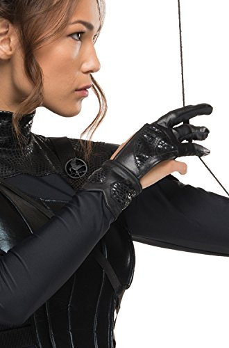 Rubie's Costume Co Women's The Hunger Games Katniss Glove, Black, One Size (The Hunger Games Costumes)