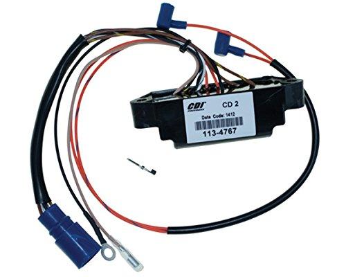 Johnson Evinrude Power Pack CD2 25 Hp 1996 Model Elect Start 2 Cyl WSM 113-4767 CD2 SL6100 OEM# 18-5768, 584767, 584768, 584908, 585074, 585224, 585260, 5000014, 5001344 (Johnson Evinrude Omc Stator)