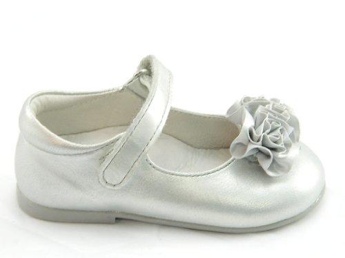 Chaussures pas Falcotto premiers 21 argent pour Argent argent Naturino bébé fille qtw5PP7F