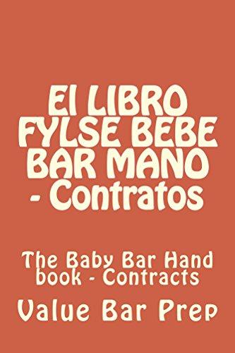 El LIBRO FYLSE BEBE BAR MANO - Contratos: Normalized Partial Reading OK (Spanish Edition