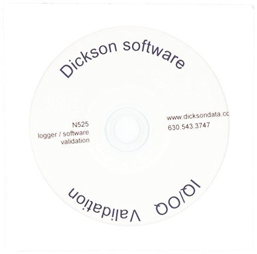 Dicksons N525 IQOQ Validation Package, CD