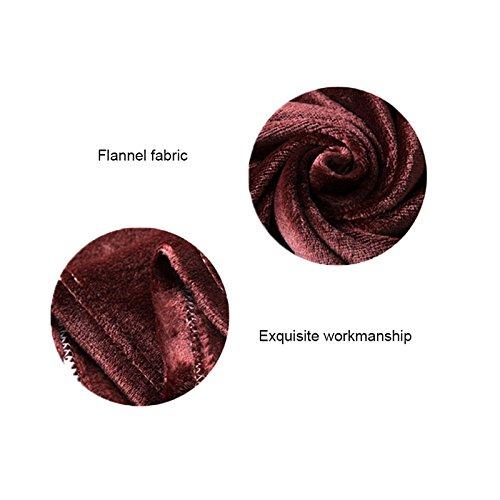 Mokylor Fleece Blanket Super Soft Warm Extra Silky Lightweight Bed Blanket 70.8 Inch x 78.7 Inch (Light Yellow)
