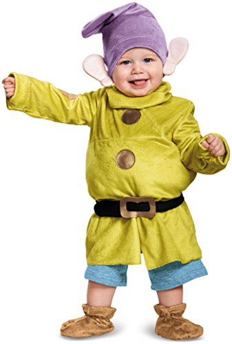 Dopey Dwarf Costumes Toddler - Baby/Toddler Dopey Deluxe Infant