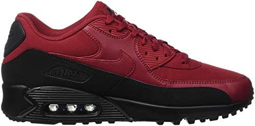 Essential homme Black 90 de NIKE Max Multicolore Chaussures running Air 001 Crush Red f0w1tF