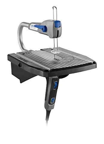 Dremel MS20-01 Moto-Saw Variable Speed Compact Scroll Saw Kit (Dremel Drill Bit Adapter)