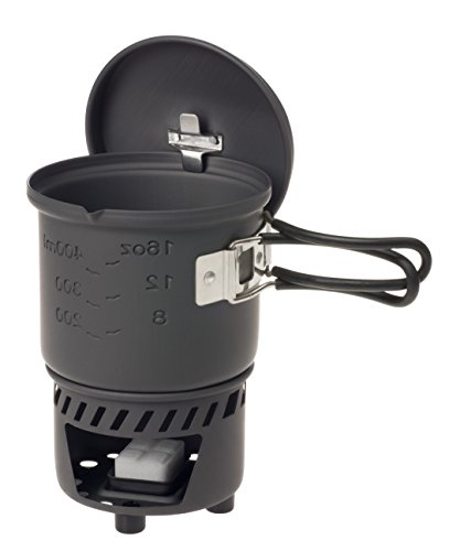 Small//6 x 14 g Esbit Unisexs Pocket Cooking Stove-Silver