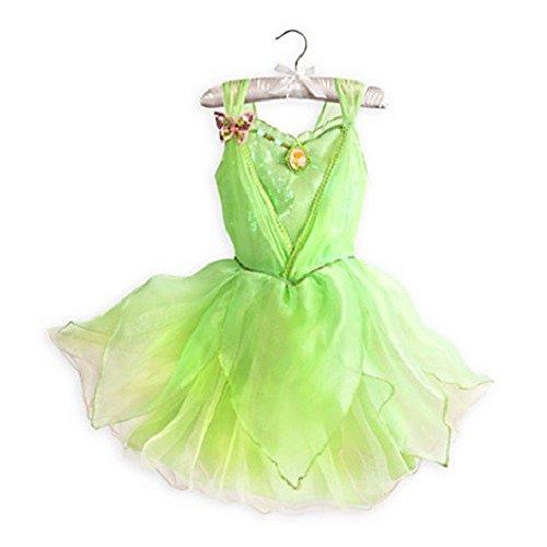 Disney Store Tinkerbell Fairies Costume for Girls