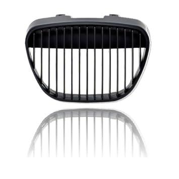 akhan kg501b - Sport Parrilla Enfriador para Negro Adecuado para Seat Ibiza 6L: Amazon.es: Coche y moto